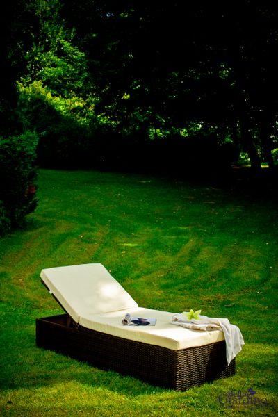 Bello Giardino - leżanka ogrodowa z technorattanu zdjęcie 2