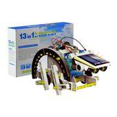 Robot solarny 13w1 zabawka interaktywna  do składania DIY Y180