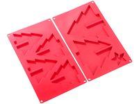 Silikonowa forma do pieczenia (kształt choinki) Rosenstein & Söhne