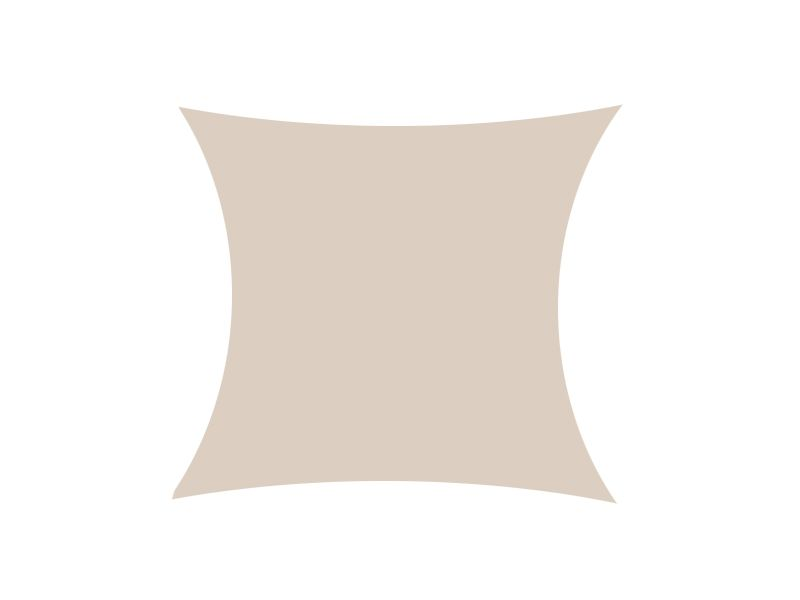 Żagiel przeciwsłoneczny daszek zacieniacz 5x5 m zdjęcie 1