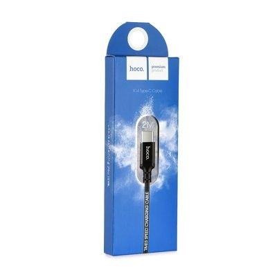 Mocny Kabel USB typ C  hoco x14 2m zdjęcie 3