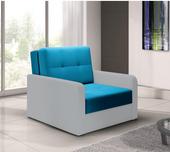 Sofa - fotel rozkładany Top Bis - różne kolory - na wymiar