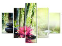 Lilie i bambusy 5H 150x105 piękny GRATISY