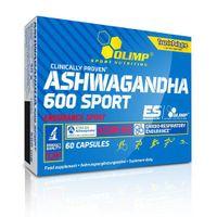 Olimp, Ashwagandha 600 Sport, 60 kapsułek - Długi termin ważności!