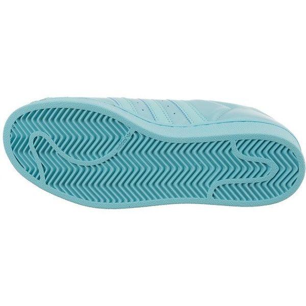 Niebieskie Buty Adidas Superstar Glossy Toe W 529 porównaj