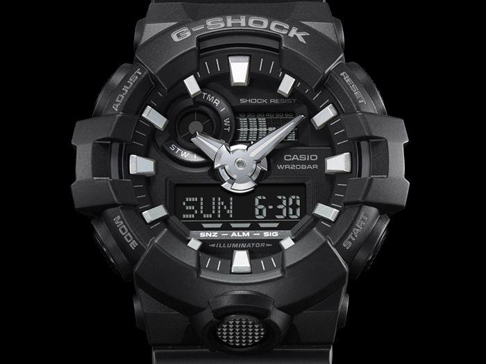 Zegarek męski Casio G-SHOCK GA-700-1BER zdjęcie 3