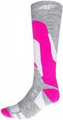 Skarpety narciarskie 4F H4Z17-SODN001 39-42 różowe
