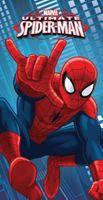 Ręcznik dziecięcy 70x140 Kąpielowy Plażowy Spiderman Spider Marvel