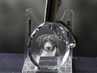 Hiszpański pies dowodny - kryształowy brelok z wizerunkiem psa