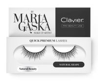 Clavier Quick Premium Lashes Rzęsy Na Pasku Natural Beauty 827