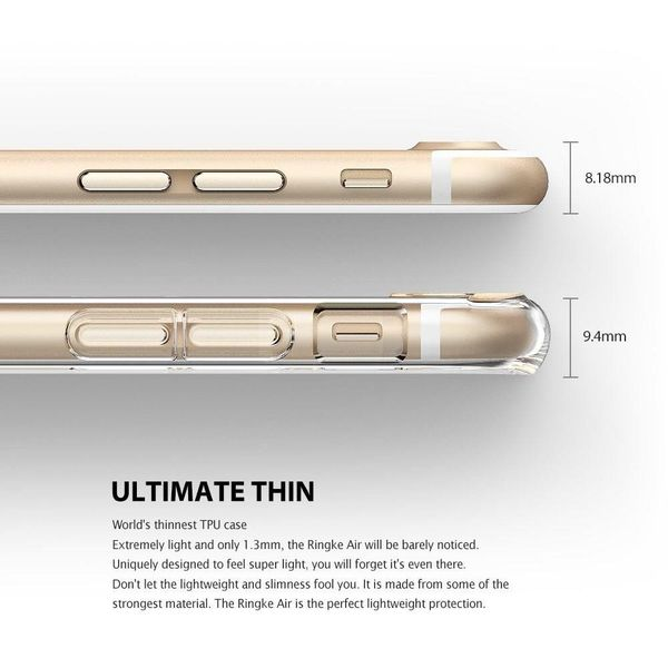 Etui Ringke Air Apple do iPhone 8/7 Rose Gold zdjęcie 3