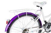 Rower 24 KANDS LAGUNA VS-2 stożek biało-fioletowy zdjęcie 8