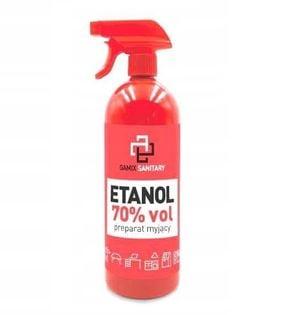 Preparat myjący do powierzchni Gamix Etanol 70% 1l