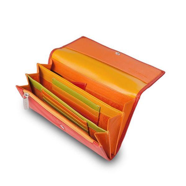 Skórzany portfel damski DuDu®, 534-1165 czerwony zdjęcie 1