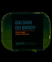 ZEW for men Balsam do brody z węglem drzewnym - 80 ml
