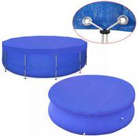 Plandeka na basen, okrągła, PE, 460 cm, 90 g/m² GXP-680211