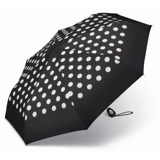 Automatyczna mocna parasolka damska Pierre Cardin, w grochy na Arena.pl