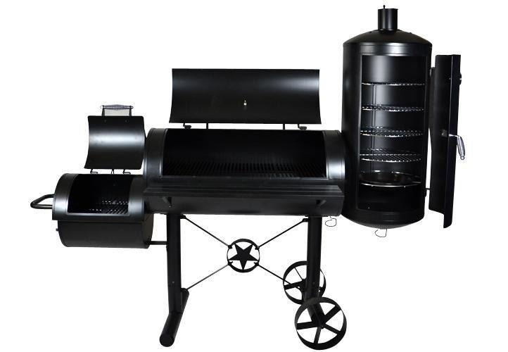 Grill ogrodowy XXL BBQ, wędzarnia, grill z wędzarnią zdjęcie 8