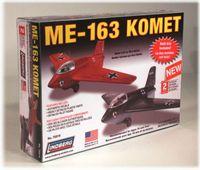 Model Plastikowy Do Sklejania Lindberg (USA) Odrzutowiec Messerschmitt ME-163 Komet