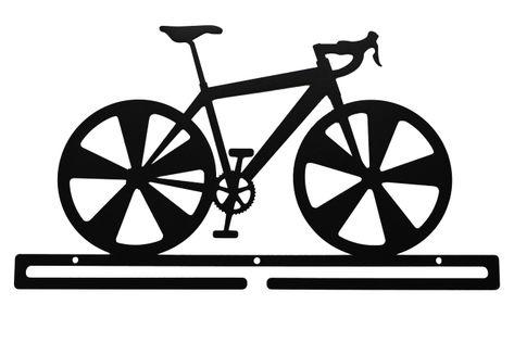 Metalowy wieszak na medale ROWER medalówka kolarz szosa MTB