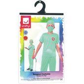 strój LEKARZA lekarz CHIRURG dla dzieci 10-12 lat zdjęcie 3
