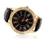 Zegarek damski, Geneva, złoty z kryształkami, 3 kolory, pasek, NOWY zdjęcie 3