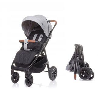 4 BABY Wózek spacerowy STINGER AIR Pompowane Koła LIGHT GREY