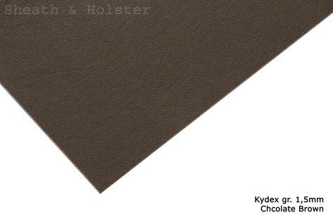 Kydex Chocolate Brown - 150x200mm gr. 1,5mm