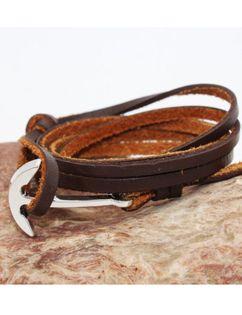 Męska bransoletka z kotwicą Estilo Sabroso ES05462