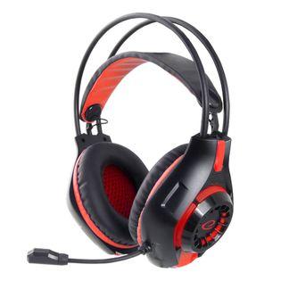 EGH420R Esperanza słuchawki z mikrofonem gaming deathstrike czerwone