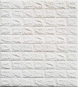 Panele Ścienne 3D SAMOPRZYLEPNE, NAKLEJKI Cegła 70x77 biała