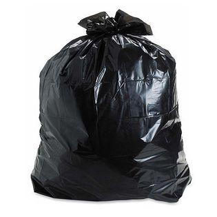Mocne worki na śmieci czarne 120 L 10 sztuk