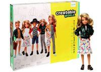 Barbie Creatable Blond Włosy Mattel GGT67