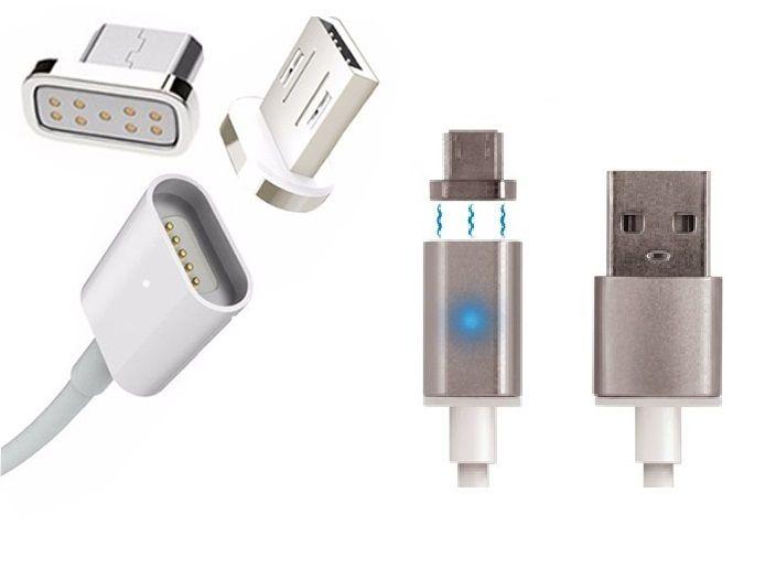 MAGNETYCZNY KABEL MICRO USB SAMSUNG SONY LG HUAWEI zdjęcie 1
