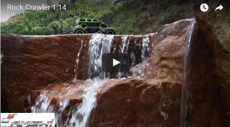 Samochód STEROWANY Terenowy Rock Crawler 4x4 1:14 zdjęcie 8