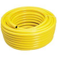 Wąż ogrodowy, żółty, 12 mm x 30 m, 56314