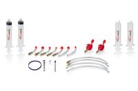 Uniwersalny zestaw do odpowietrzania hamulców hydraulicznych
