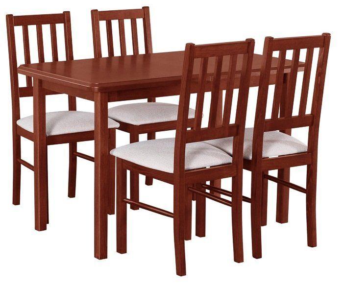 Stół I Krzesła Do Salonu Jadalni Kuchni Zestaw V