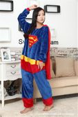 PIŻAMA KIGURUMI ONESIE KOMBINEZON SUPERMAN M zdjęcie 4