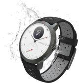 Withings NOKIA Activite Steel HR Sport - smartwatch z pomiarem pulsu (biały)