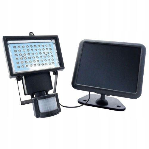 Lampa solarna halogen LED czujnik ruchu zmierzchu zdjęcie 2