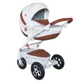 Wózek dziecięcy wielofunkcyjny Timer Eco Tutek w zestawie 4w1 (z bazą isofix)