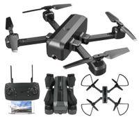 Dron S18 Składany DUAL Kamera 4K 12mp Funkcja Śledzenia Y297