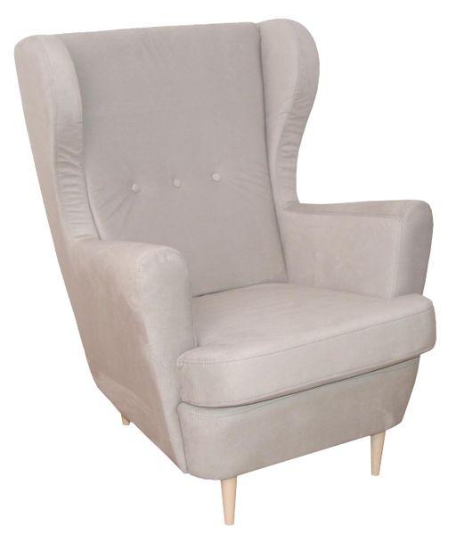SANTO Fotel beżowy zdjęcie 1
