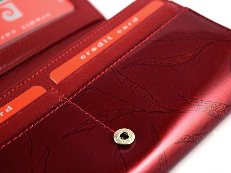 Portfel damski Pierre Cardin skórzany zamek listki zdjęcie 9