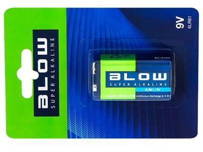 Bateria Blow Super Alkaine 9V 6LR61 (82-519)