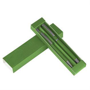Zestaw piśmienny, długopis i pióro kulkowe