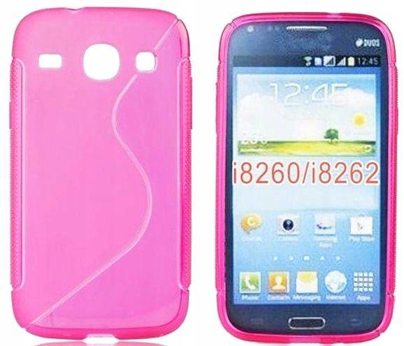 Pokrowiec Etui Gumowe Telefon Samsung Galaxy Core2 Arena Pl