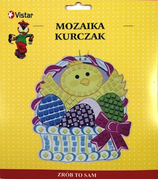 "Vistar Ozdoba wielkanocna ""Mozaika-kurczak"" 482737 na Arena.pl"