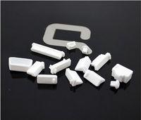 Zaślepki gniazd komputerowych USB HDMI VGA  - Białe